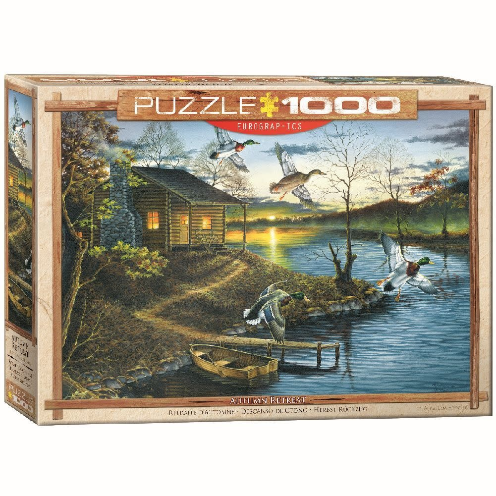 Eurographics Puzzle 1000: Autumn Retreat by Abraham Hunter