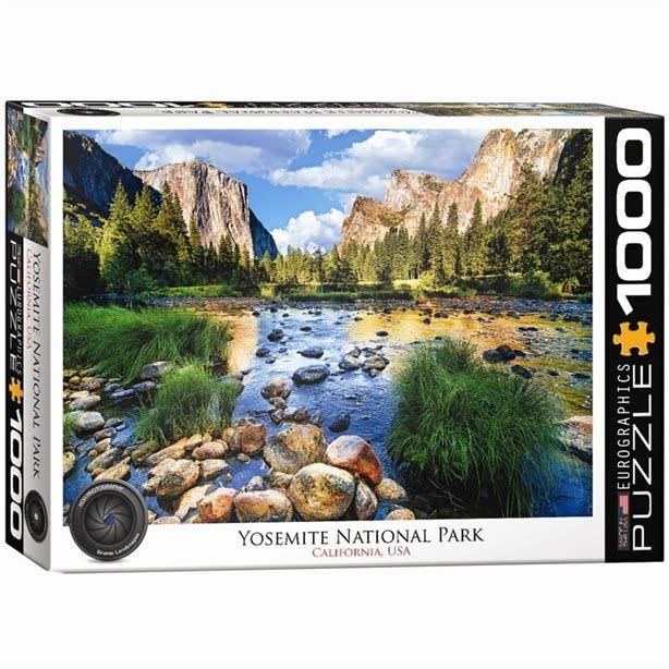 Eurographics Puzzle 1000: Yosemite National Park - California