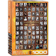 Eurographics Puzzle 1000: Famous Writers