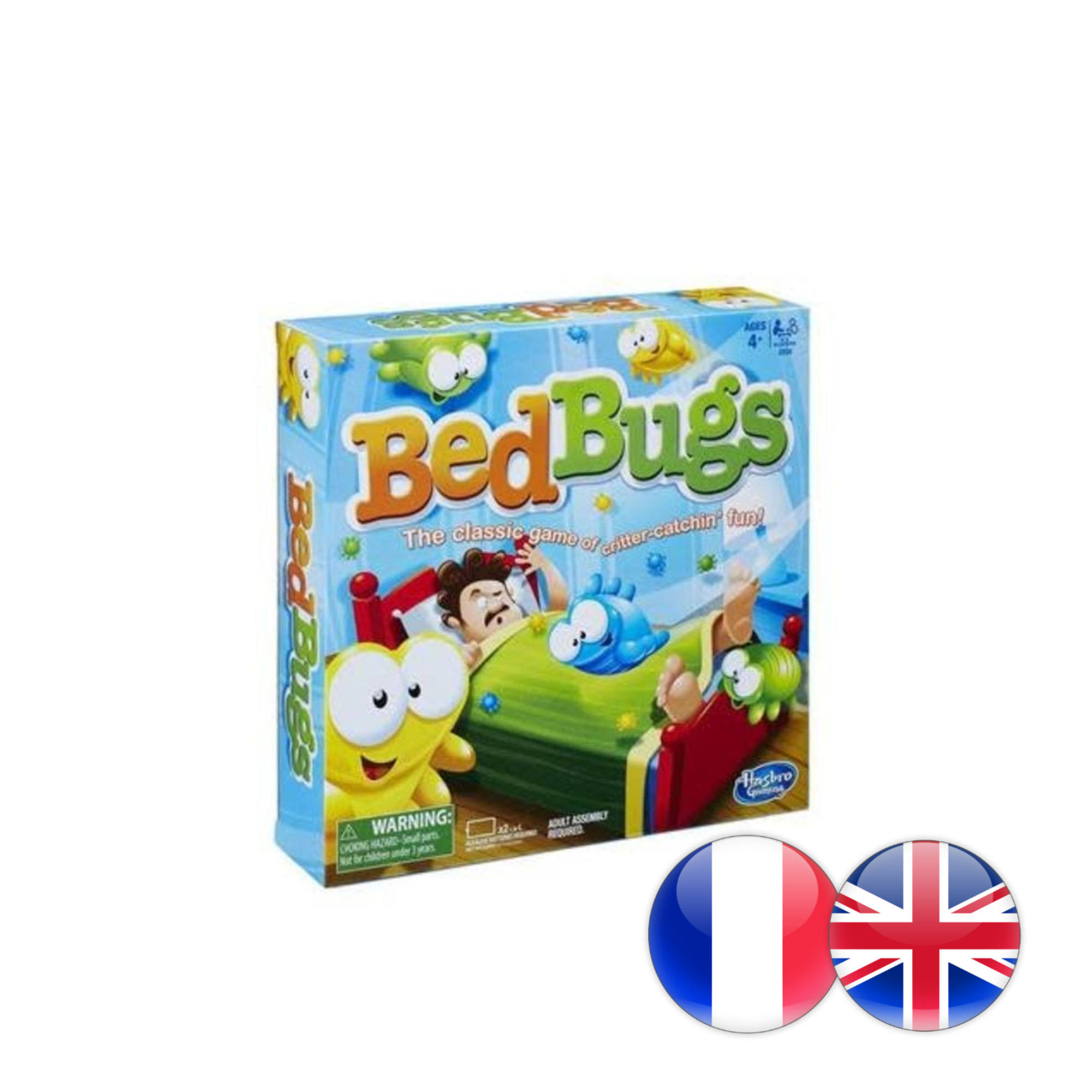 Hasbro Games Bed Bugs (Multi)