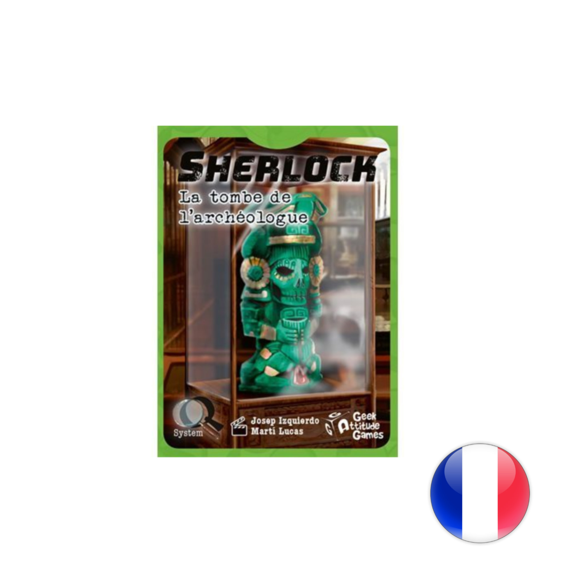 Asmodee Q System serie - Sherlock : La tombe de l'archéologue
