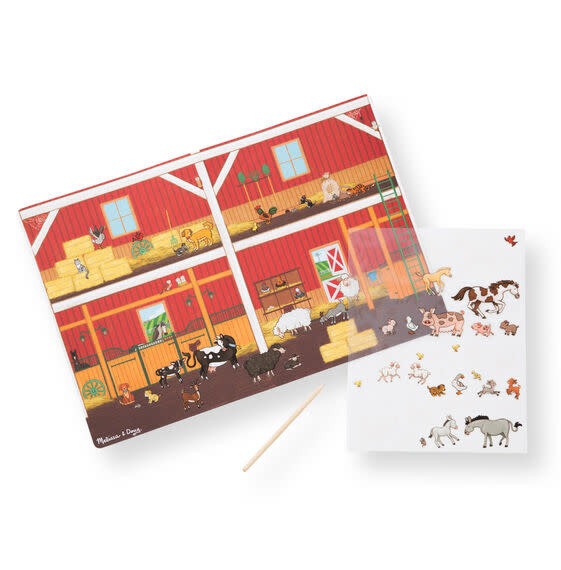 Melissa & Doug All Transfer Sticker Set - Around the Farm