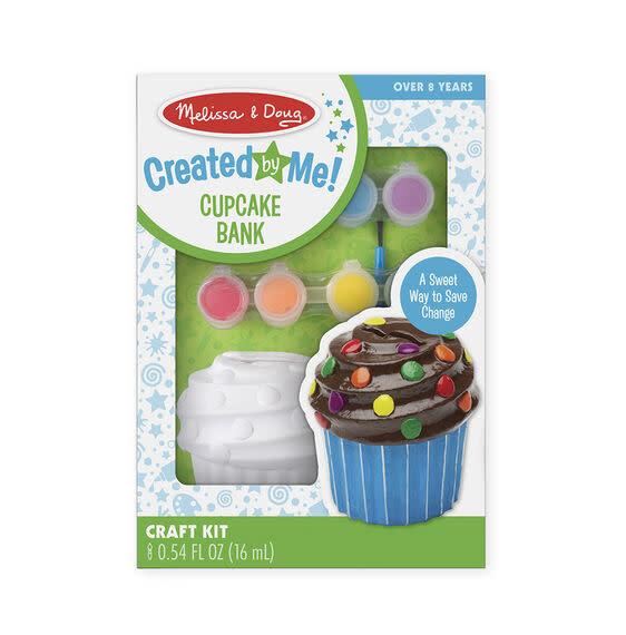 Melissa & Doug Created by Me! Cupcake Bank