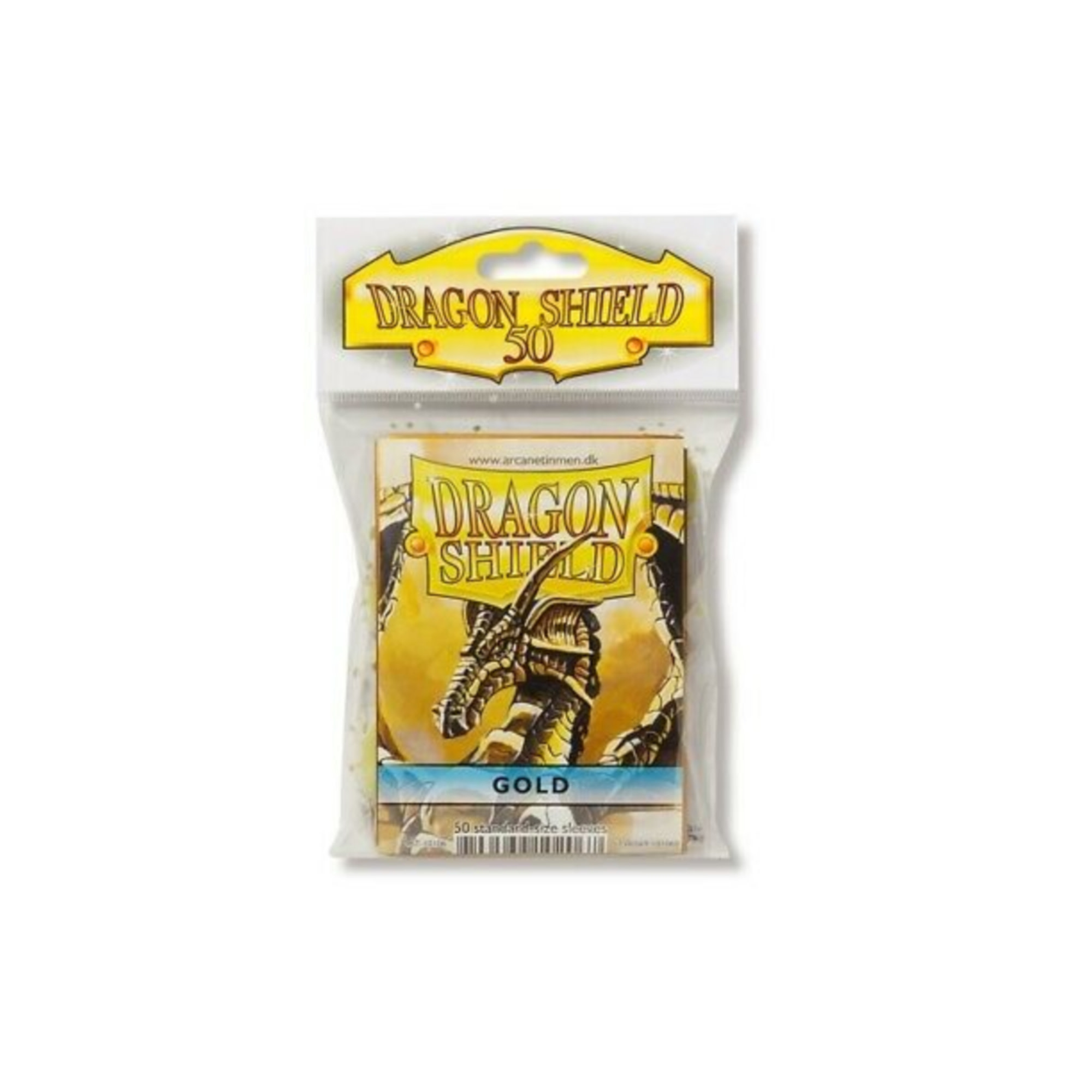 Arcane Tinmen Dragon Shields: (50) Classic Gold