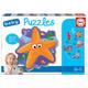 Educa Puzzle bébé 5: Animaux marins