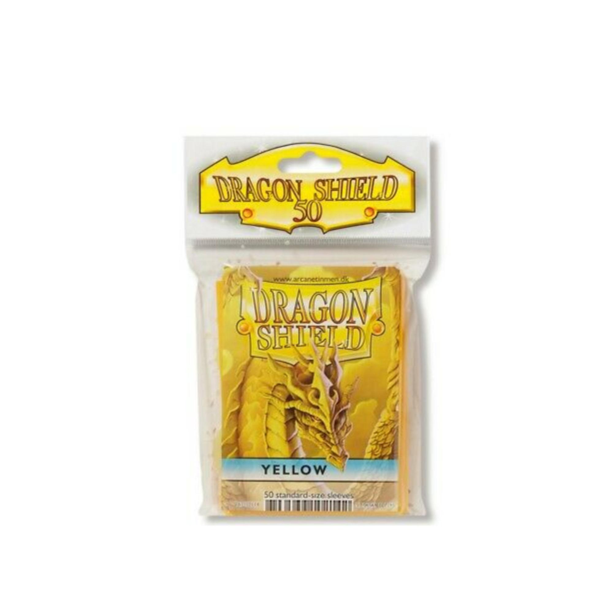 Arcane Tinmen Dragon Shields: (50) Classic Yellow