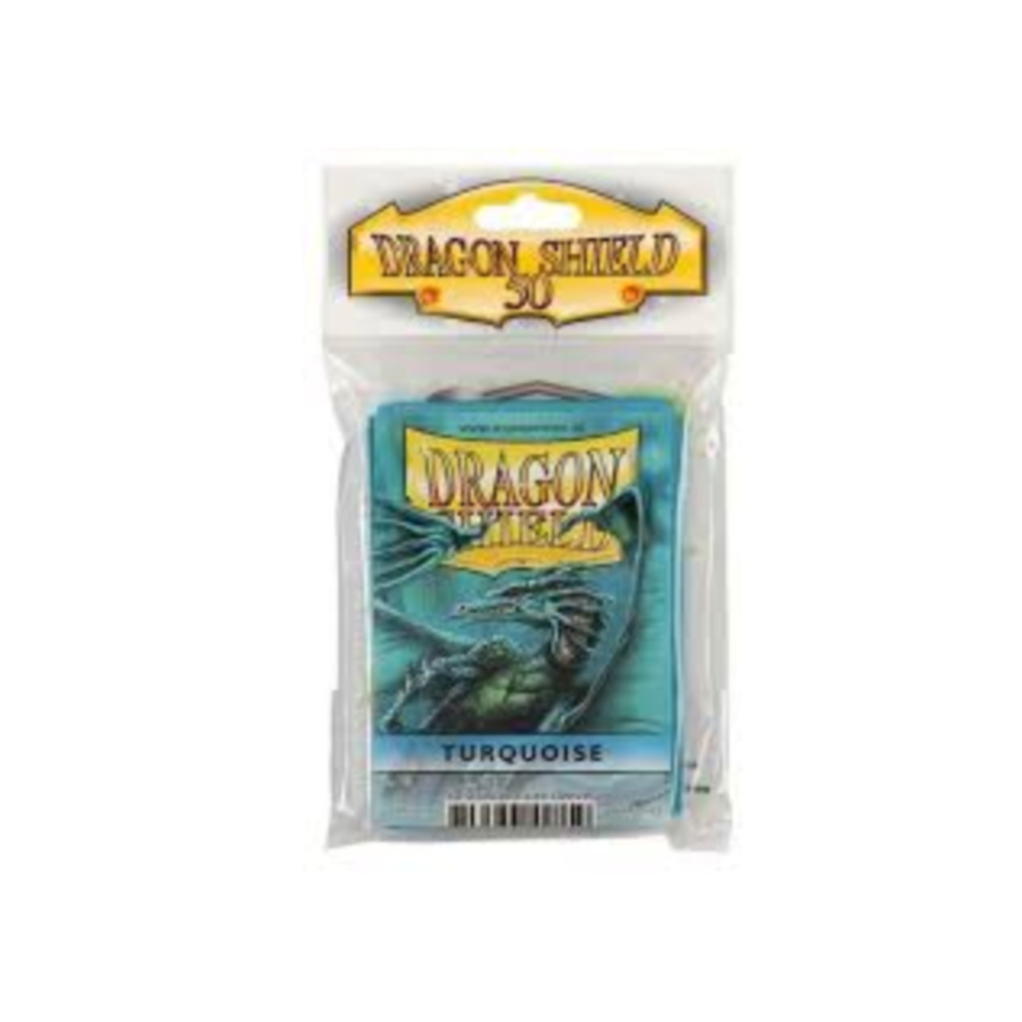 Arcane Tinmen Dragon Shields: (50) Classic Turquoise