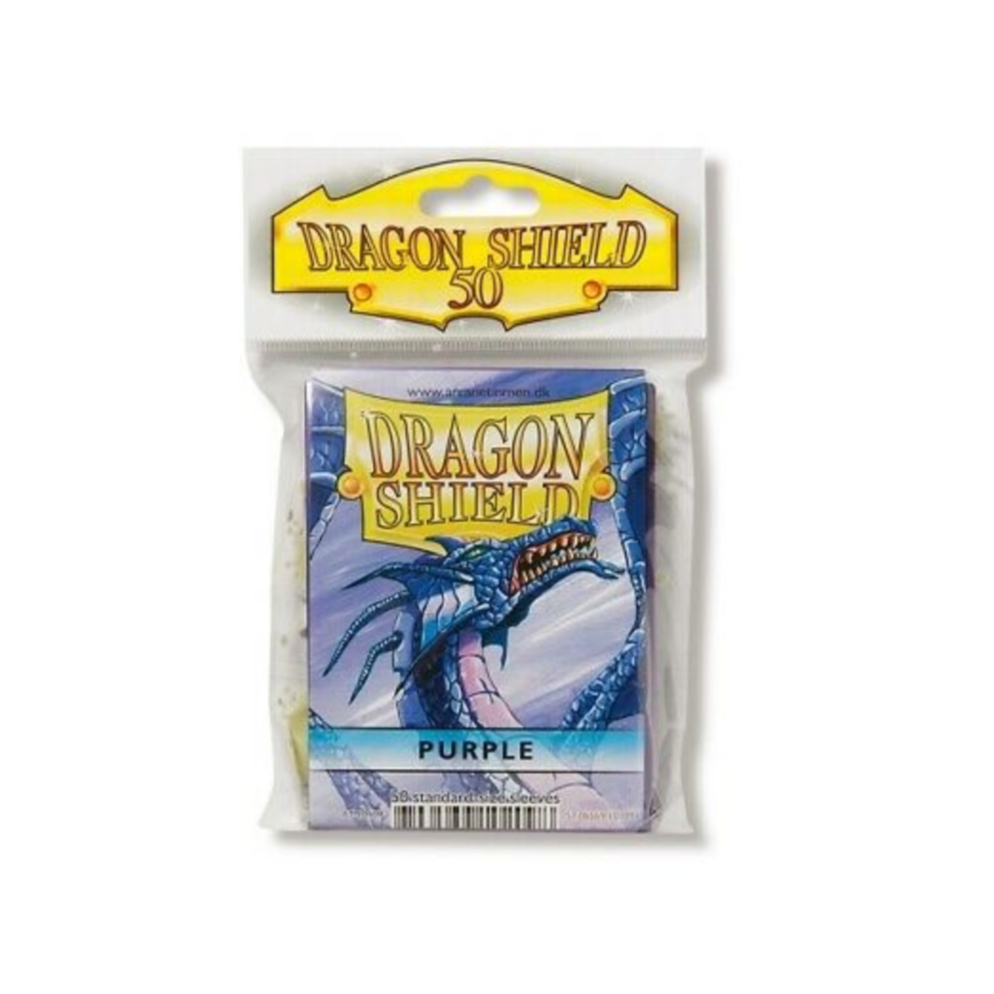 Arcane Tinmen Dragon Shields: (50) Classic Purple