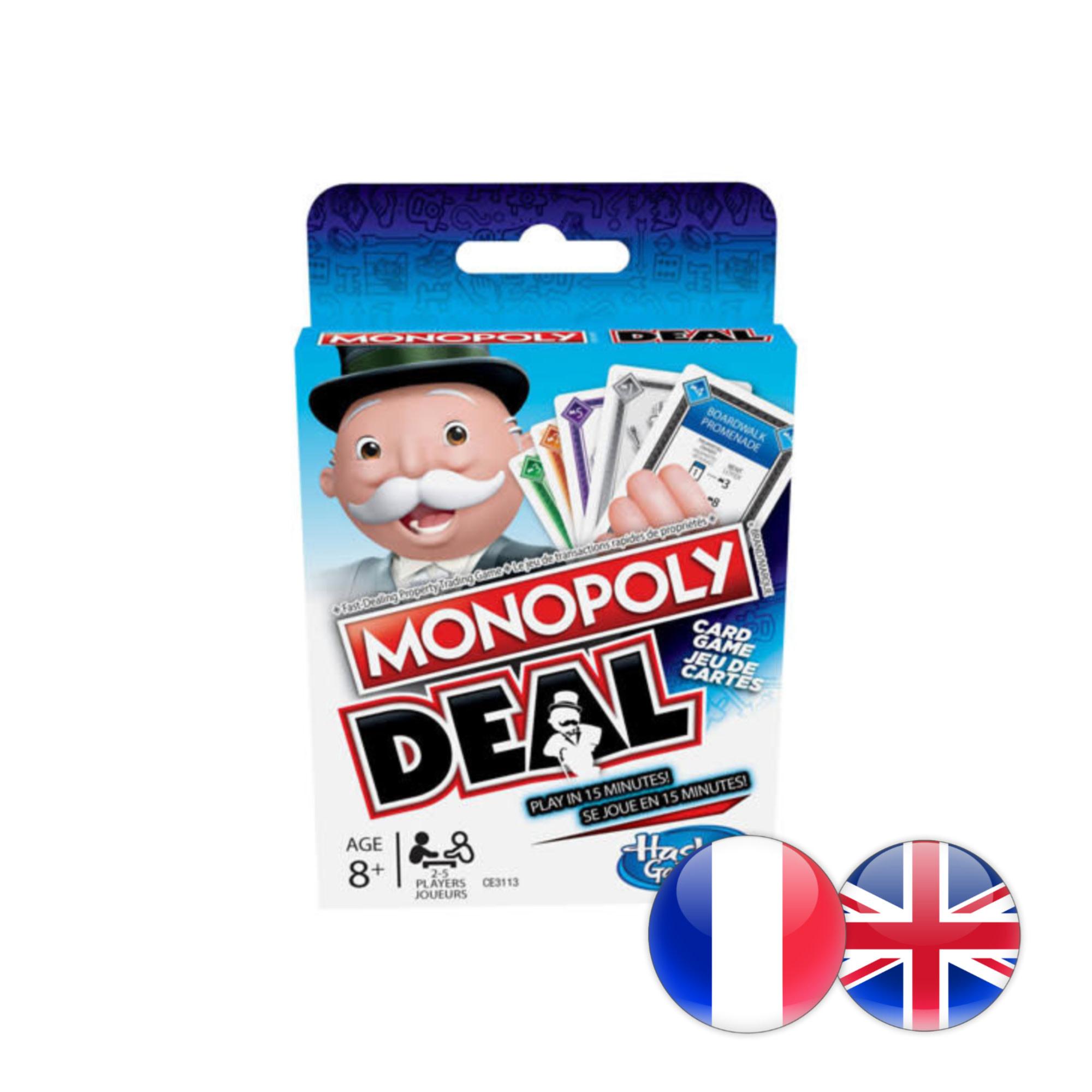 Hasbro Games Monopoly Deal refresh