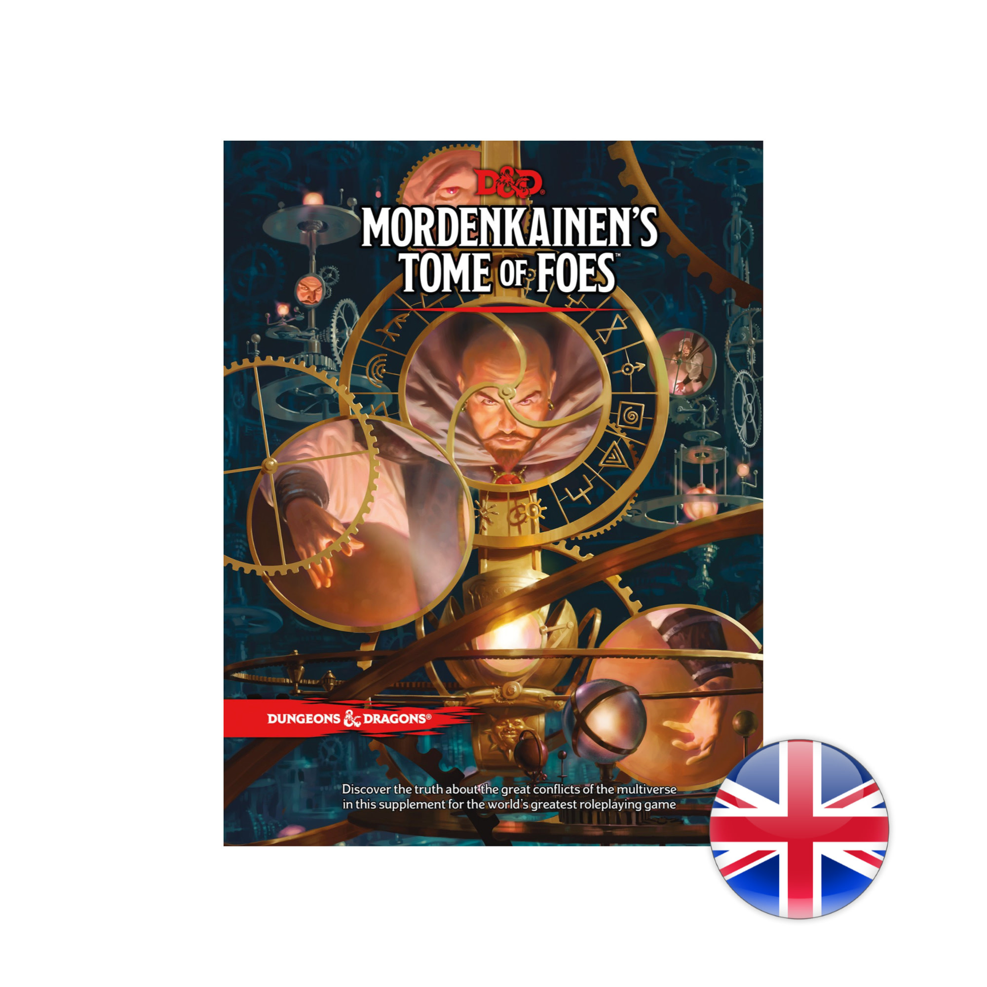 Wizards of the Coast D&D Dungeons & Dragons: Mordenkainen's Tome of Foes