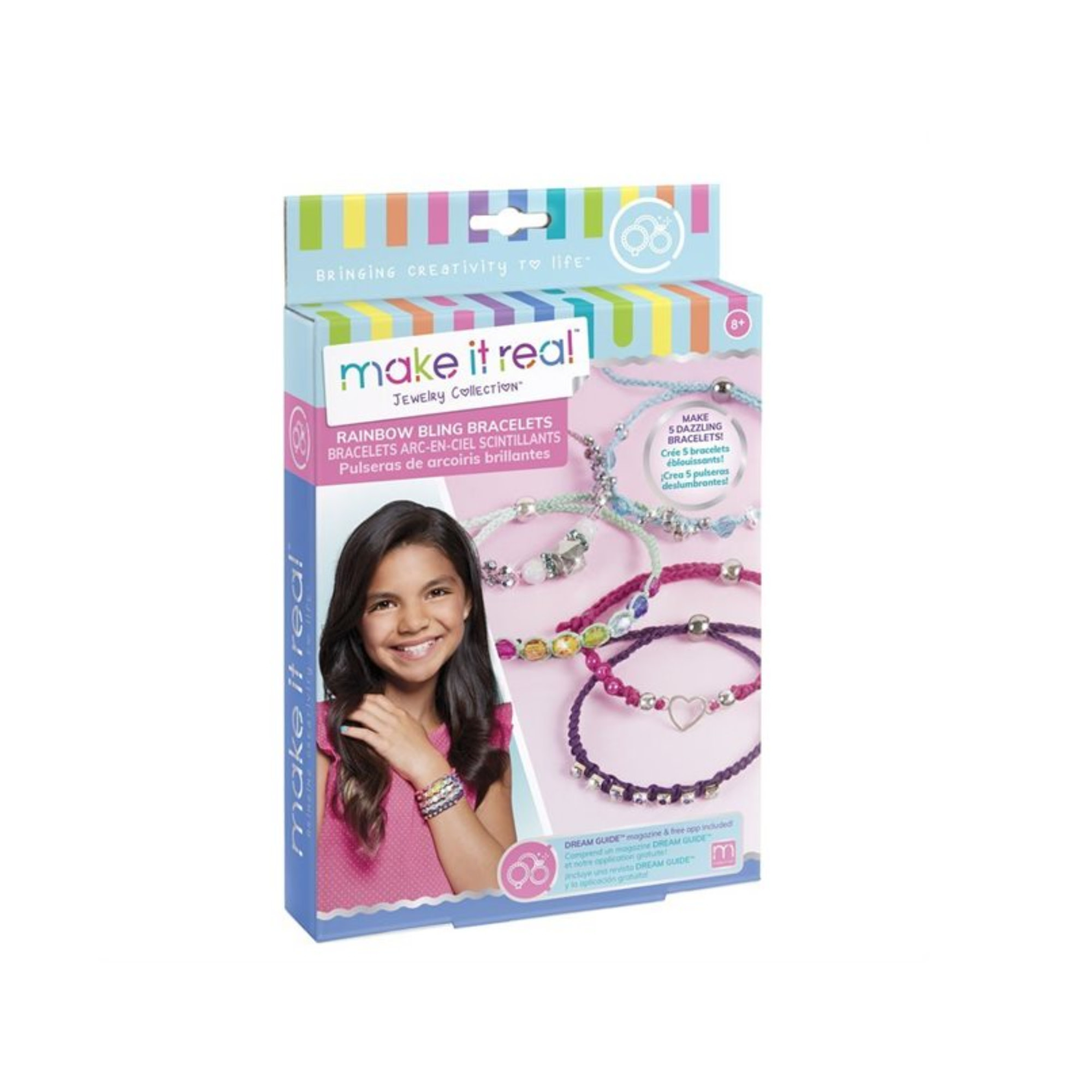 Make It Real Bracelets Arc-en-ciel Scintillants