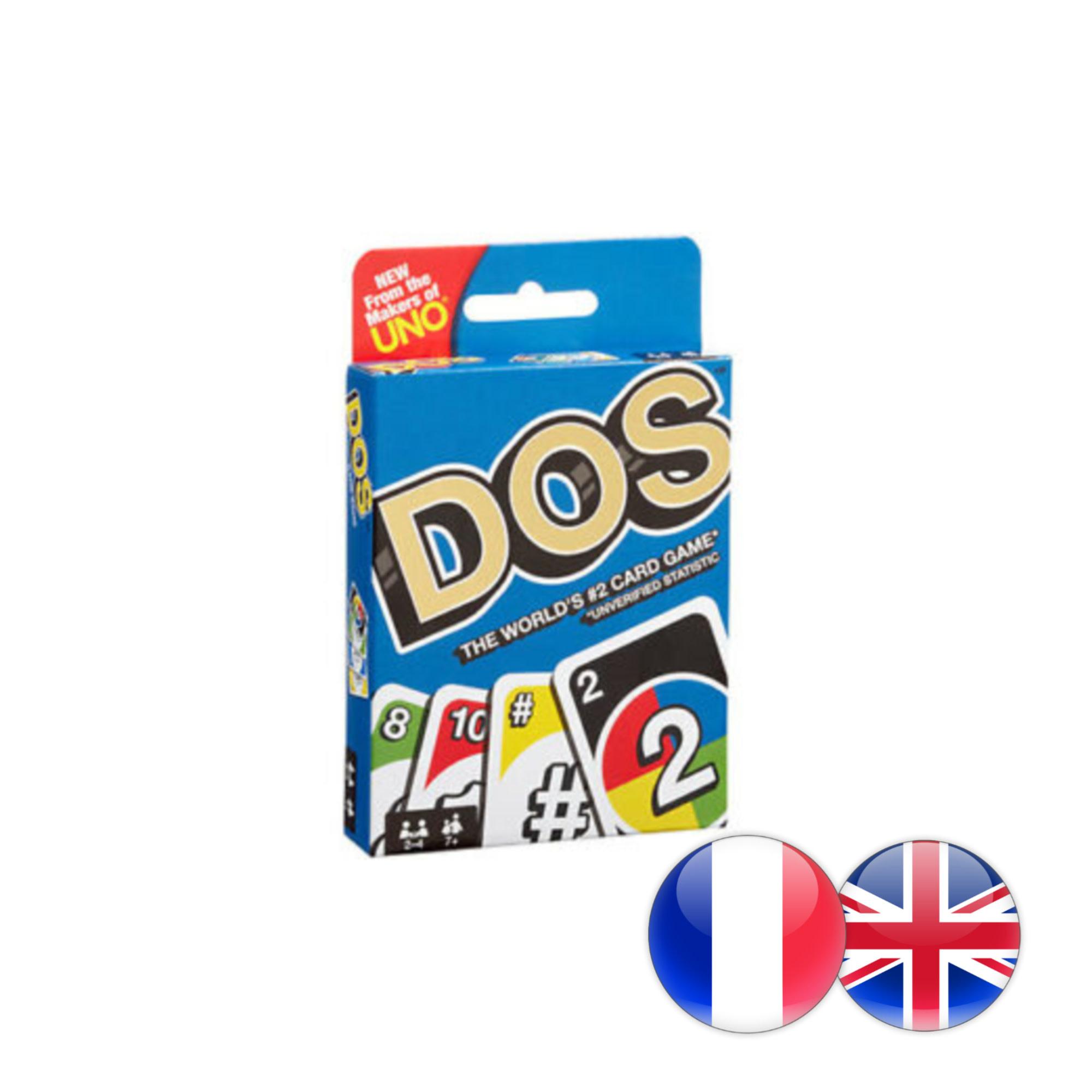 Mattel Inc. DOS jeu de cartes