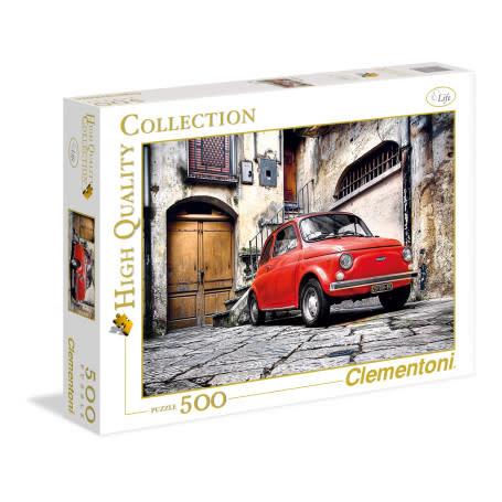 Clementoni Puzzle 500: Voiture Rouge