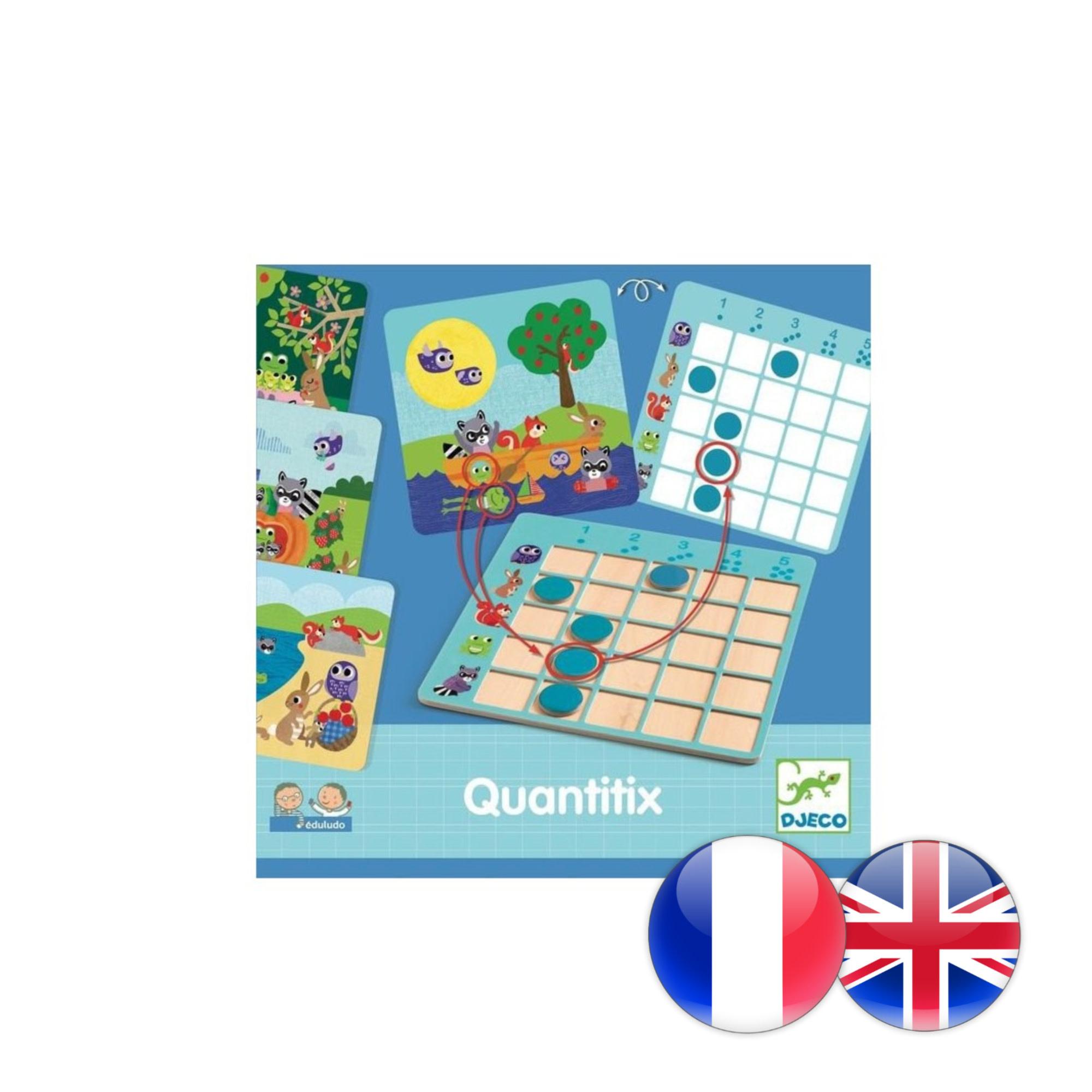 Djeco Eduludo / Quantitix
