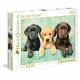 Clementoni Puzzle 1000: Trois Labradors