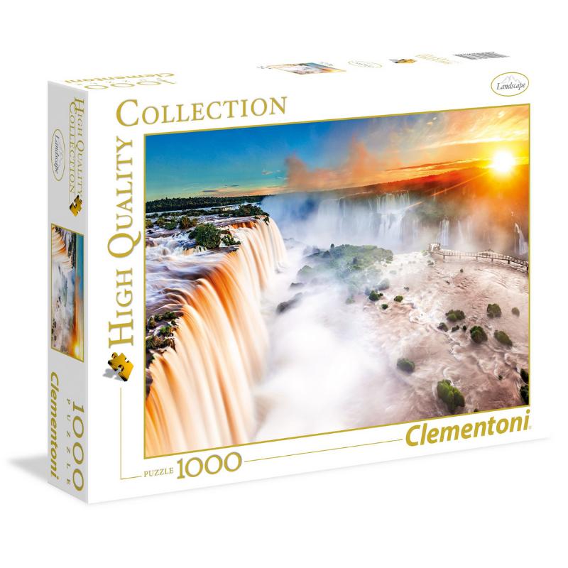 Clementoni Puzzle 1000: Les chutes
