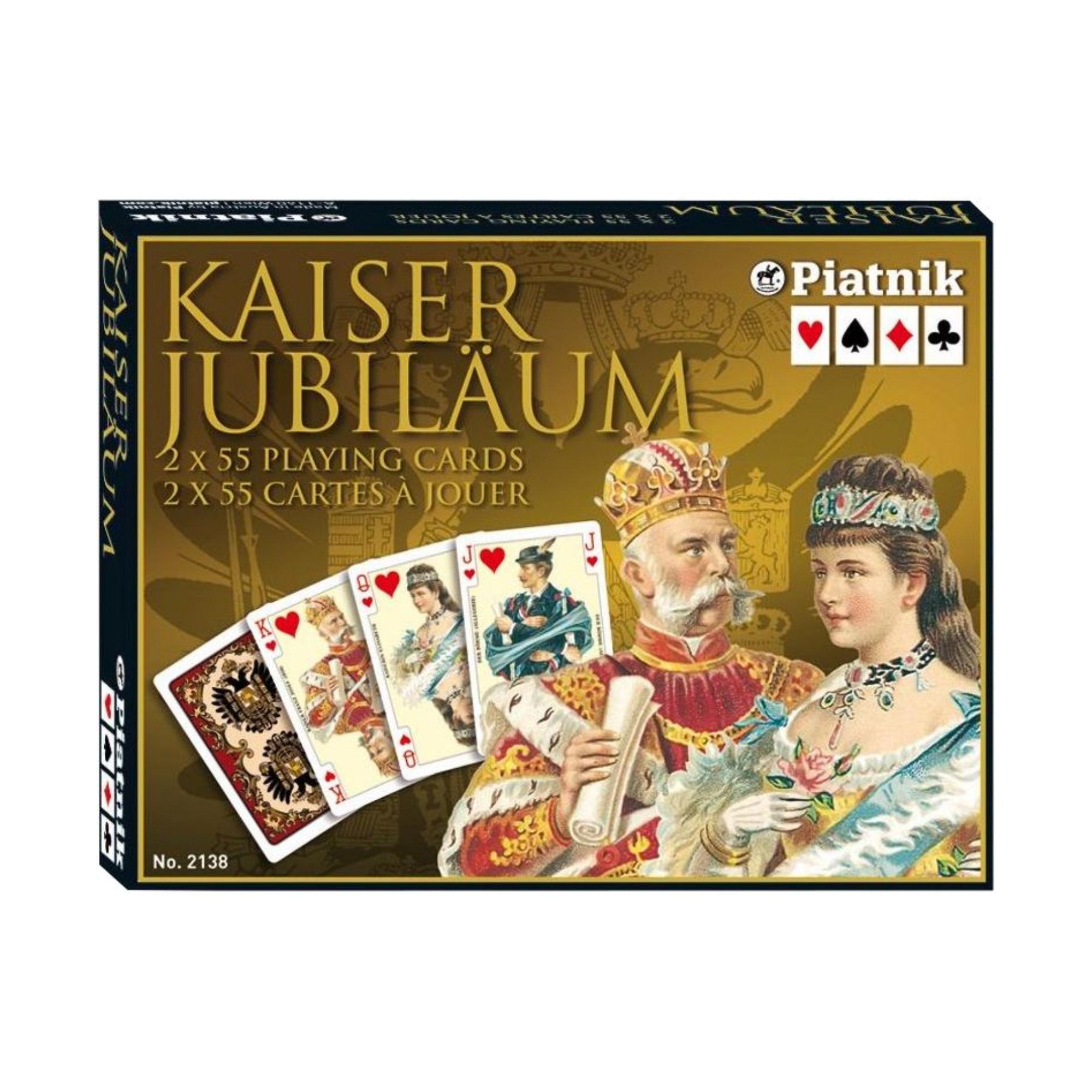 Cartes - Jeu double Kaiser