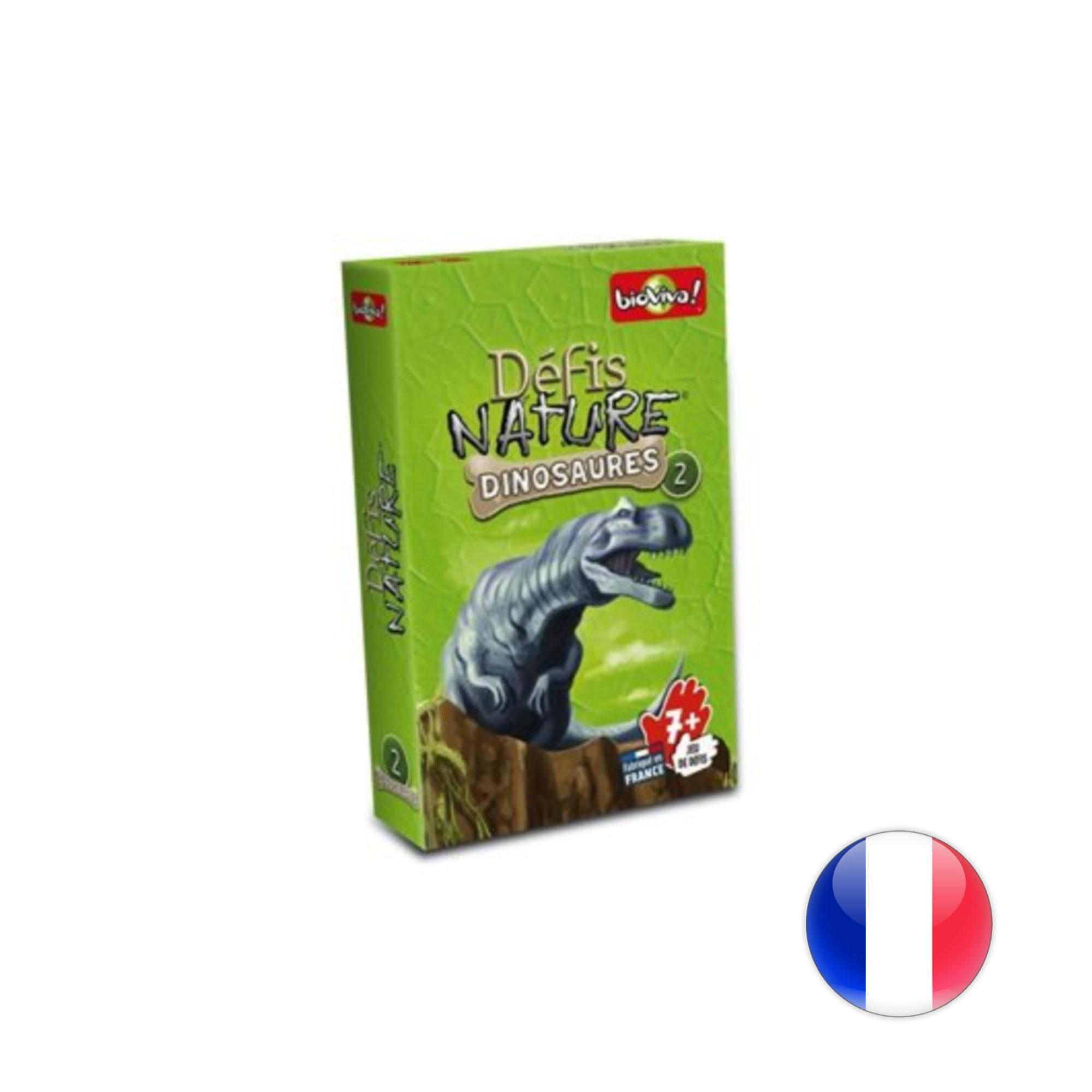 BioViva Défis Nature / Dinosaures 2 (vert)