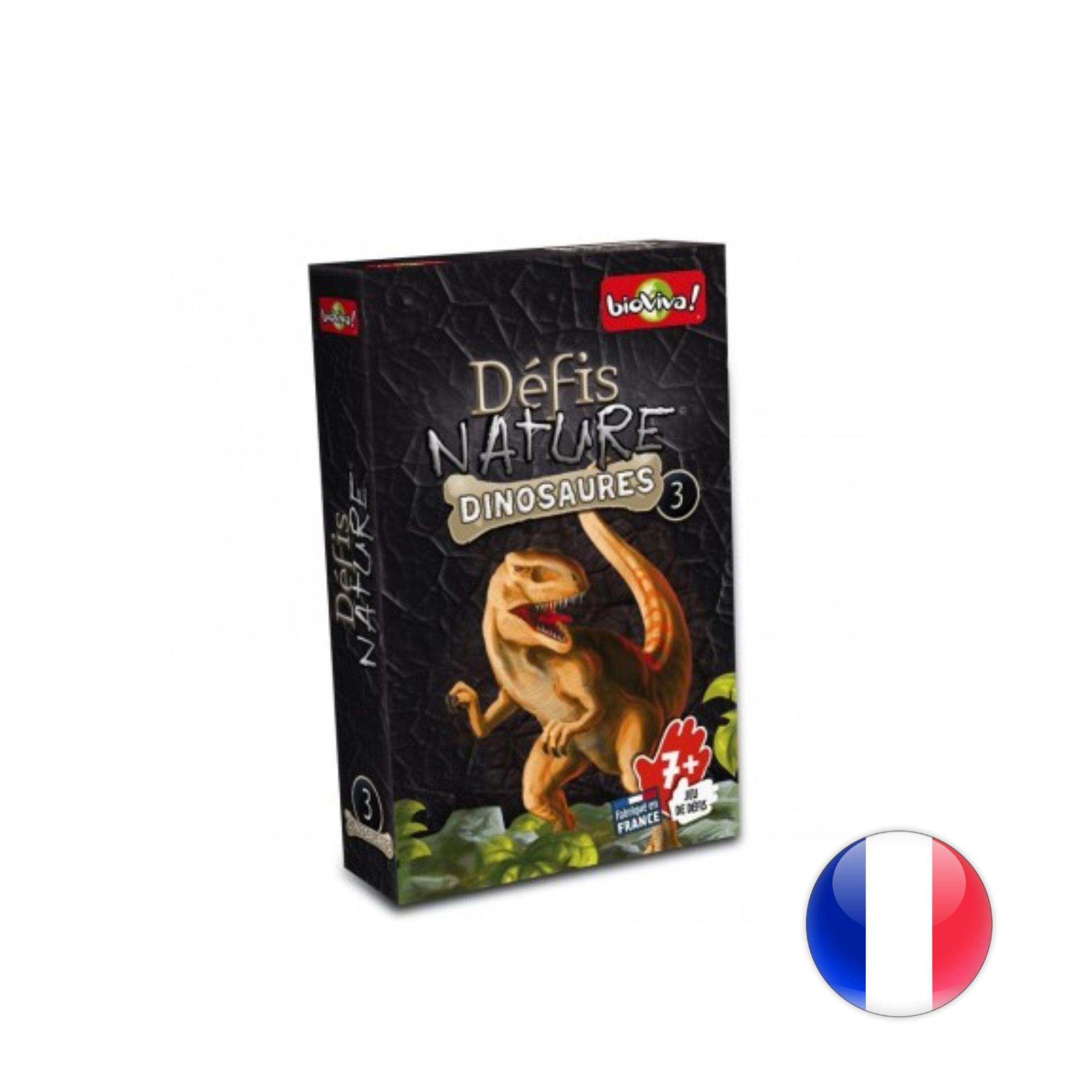 BioViva Défis Nature / Dinosaures 3 (noir)
