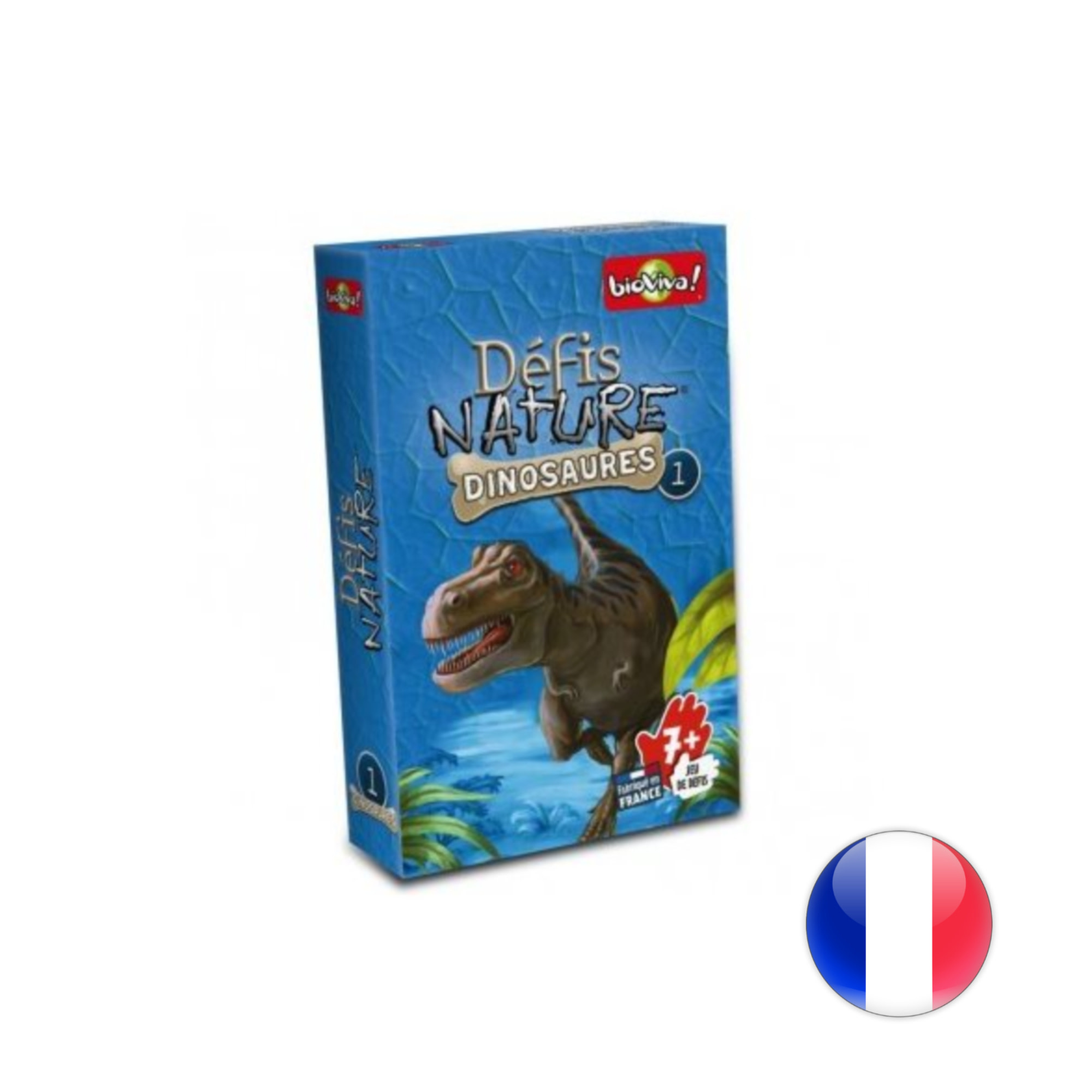 BioViva Défis Nature / Dinosaures 1 (bleu)
