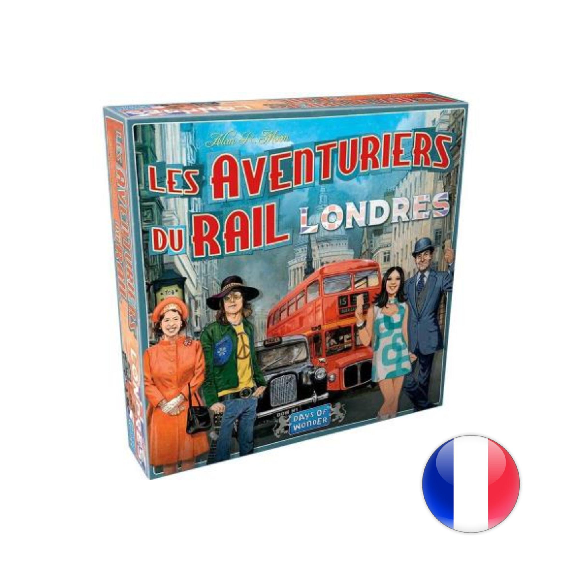 Days of Wonder Les Aventuriers du rail express: Londres