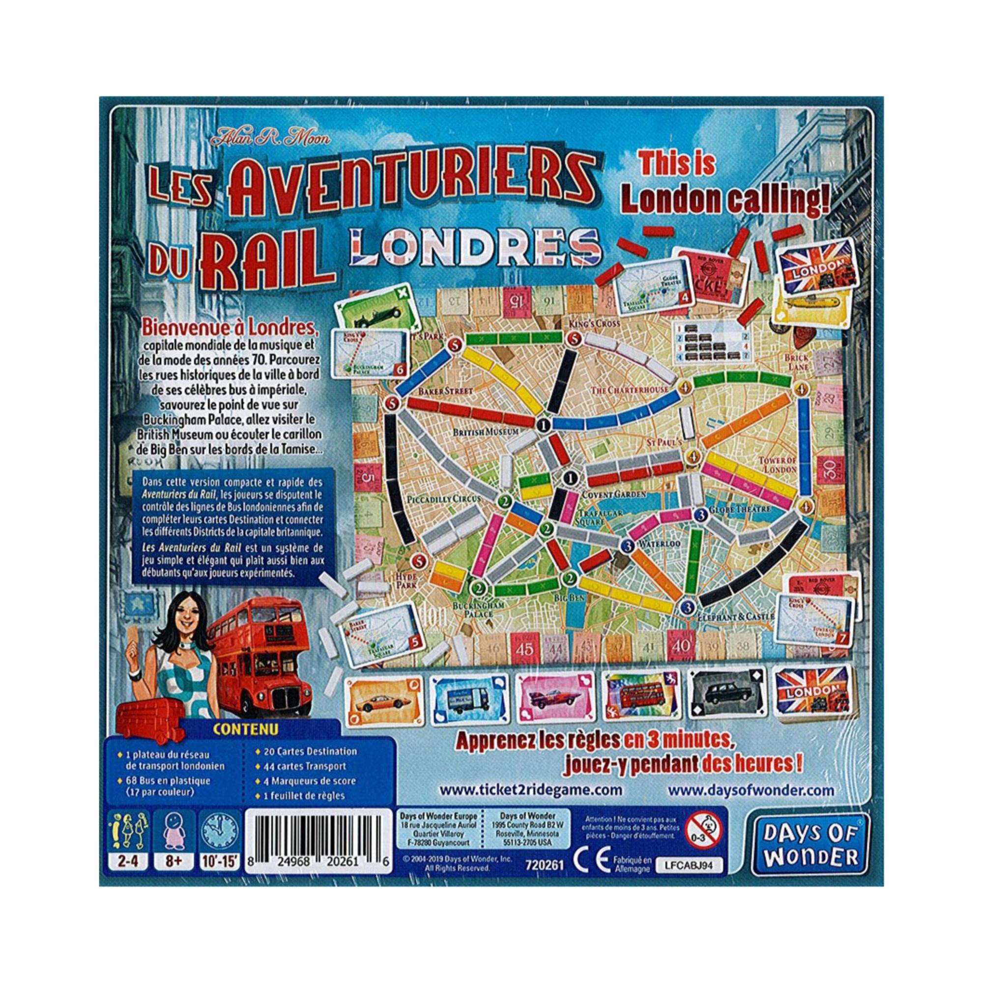 Days of Wonder Aventuriers du rail express: Londres