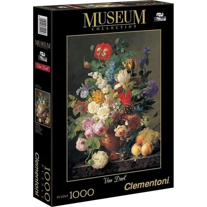 Clementoni Puzzle 1000: V. Dael - Vase de Fleur