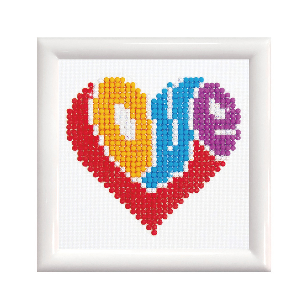 Diamond Dotz Diamond Dotz - Love (Framed)