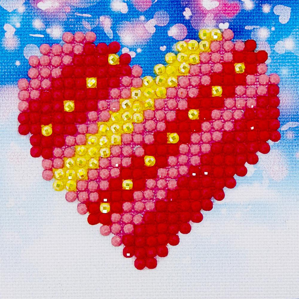 Diamond Dotz Diamond Dotz - Ens. départ Patchwork Heart