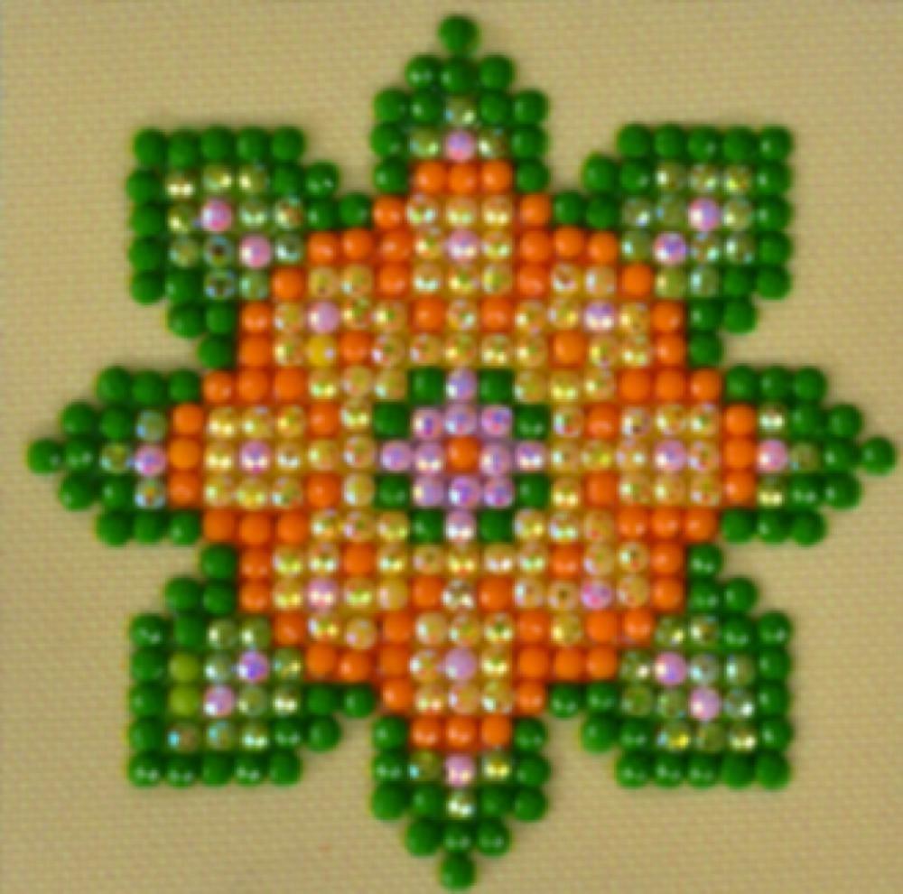 Diamond Dotz Diamond Dotz - Ensemble départ Flower Power 1