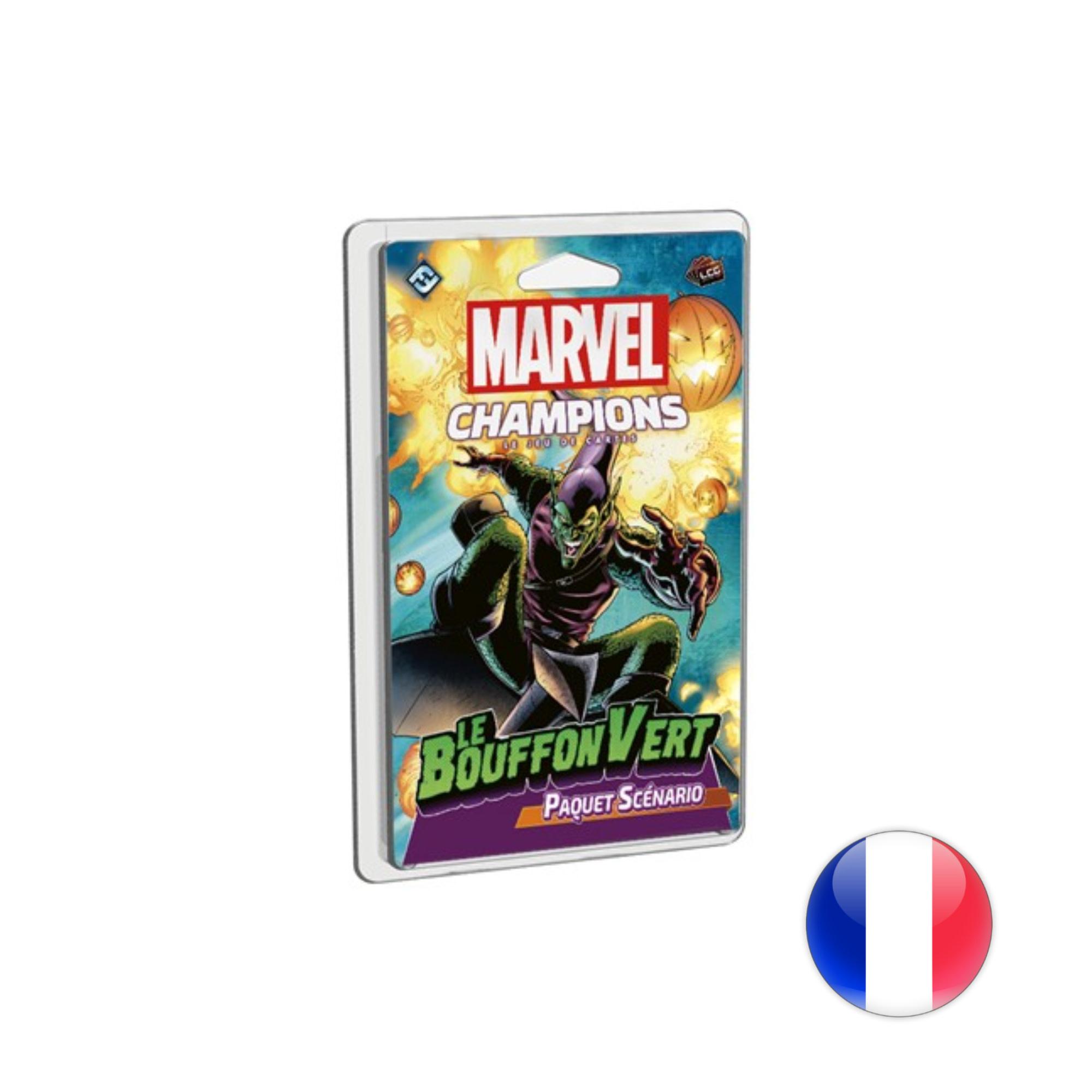 Marvel Champions Le jeu de cartes: Le Bouffon Vert