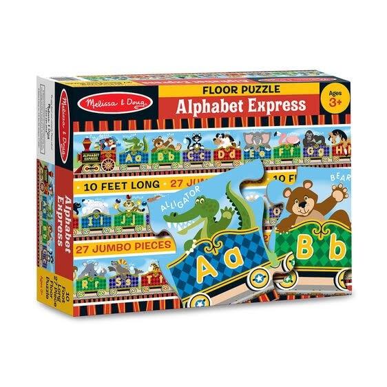 Melissa & Doug Puzzle plancher 27: Alphabet Express