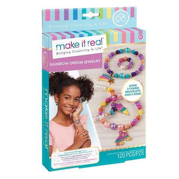 Make It Real Bracelets arc-en-ciel