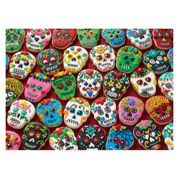 Cobble Hill Puzzle 1000: Sugar Skull Cookies