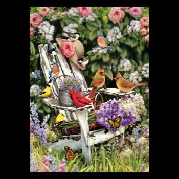 Cobble Hill Puzzle 1000: Summer Adirondack Birds