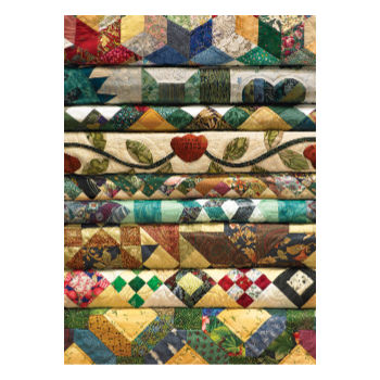 Cobble Hill Puzzle 1000: Grandma's Quilts
