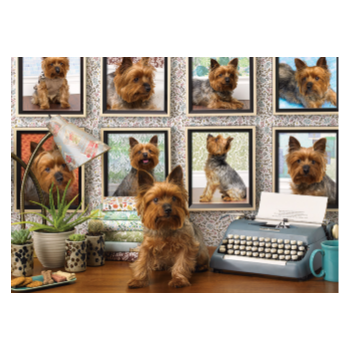 Cobble Hill Puzzle 1000: Yorkies Are My Type