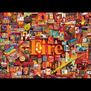 Cobble Hill Puzzle 1000: Fire