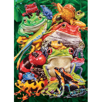 Cobble Hill Puzzle 1000: Frog Business
