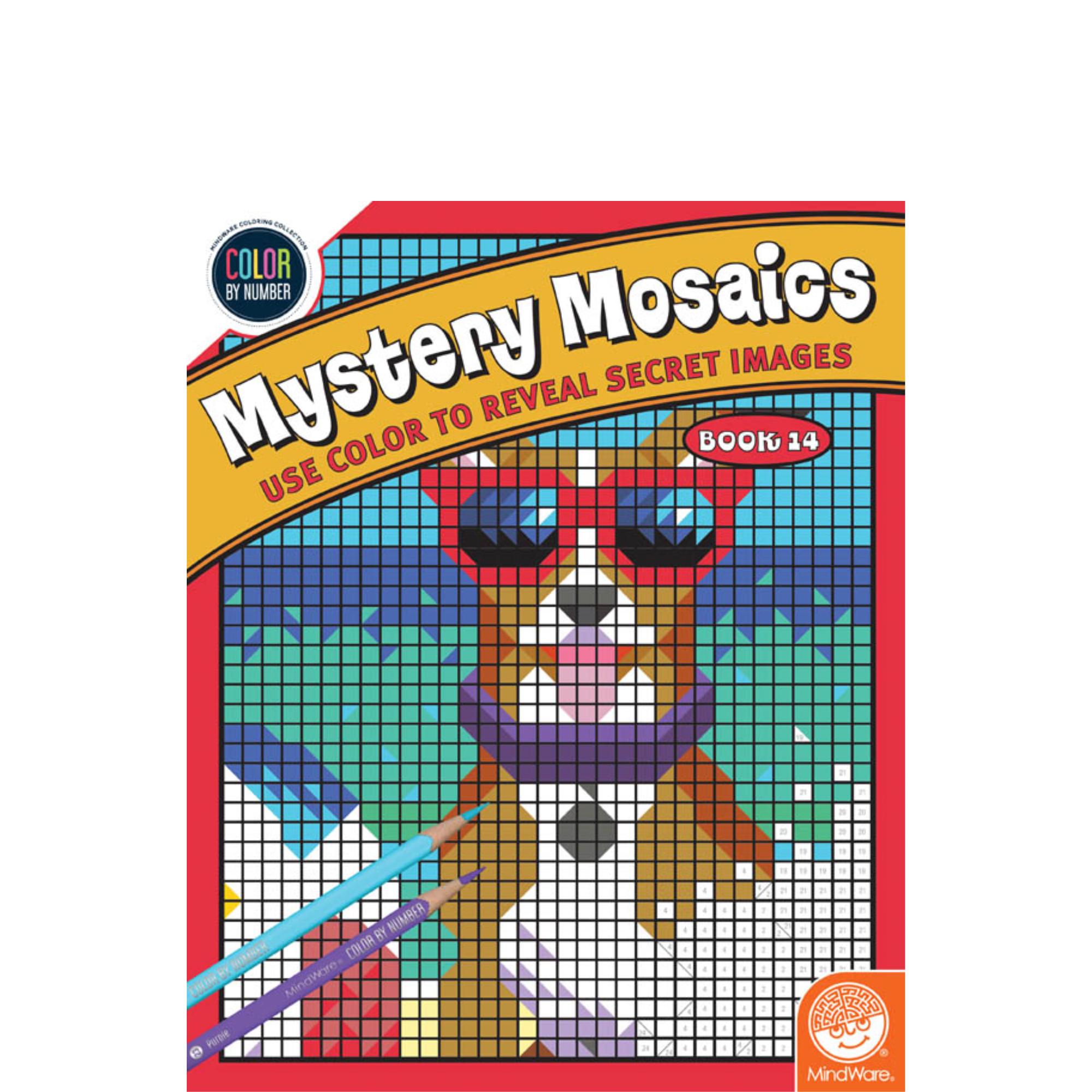 MindWare CBN Mystery Mosaics: Book 14