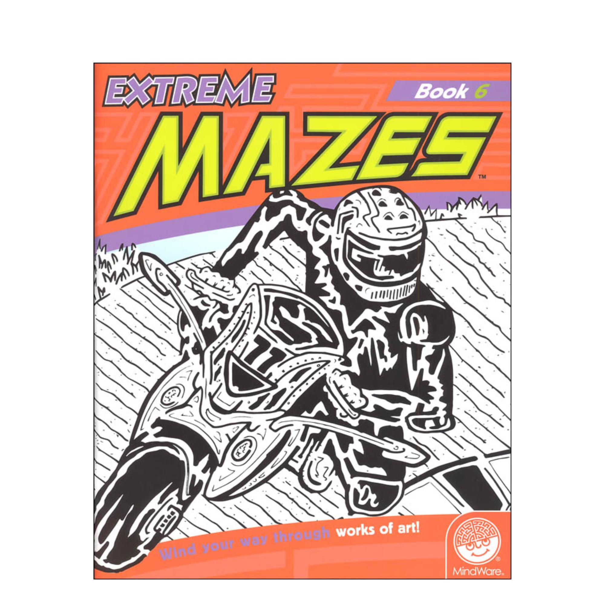 MindWare Extreme Mazes: Book 6
