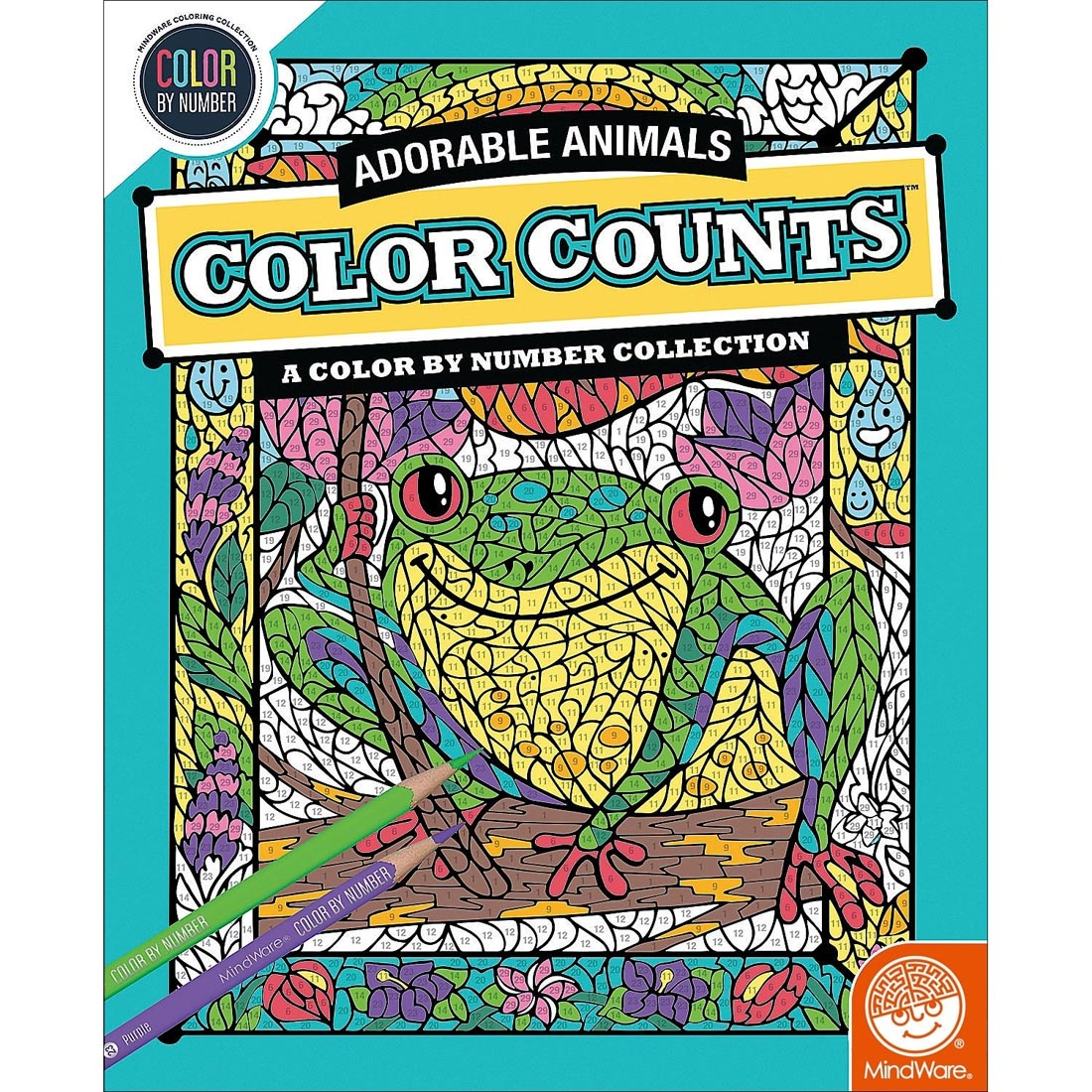 MindWare CBN Color Counts: Adorable Animals