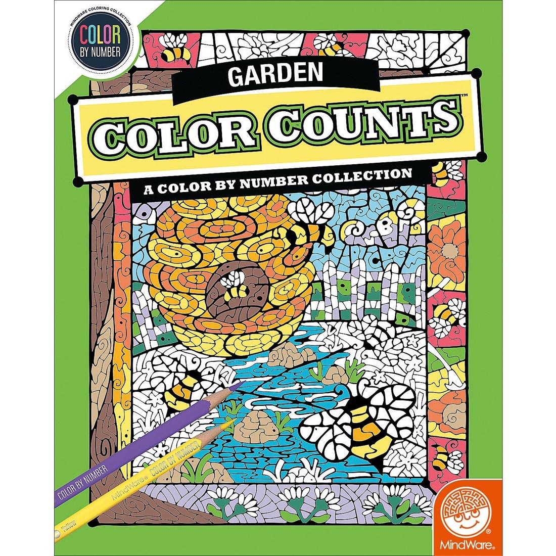 MindWare CBN Color Counts: Garden