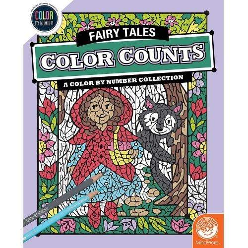 MindWare CBN Color Counts: Fairy Tales