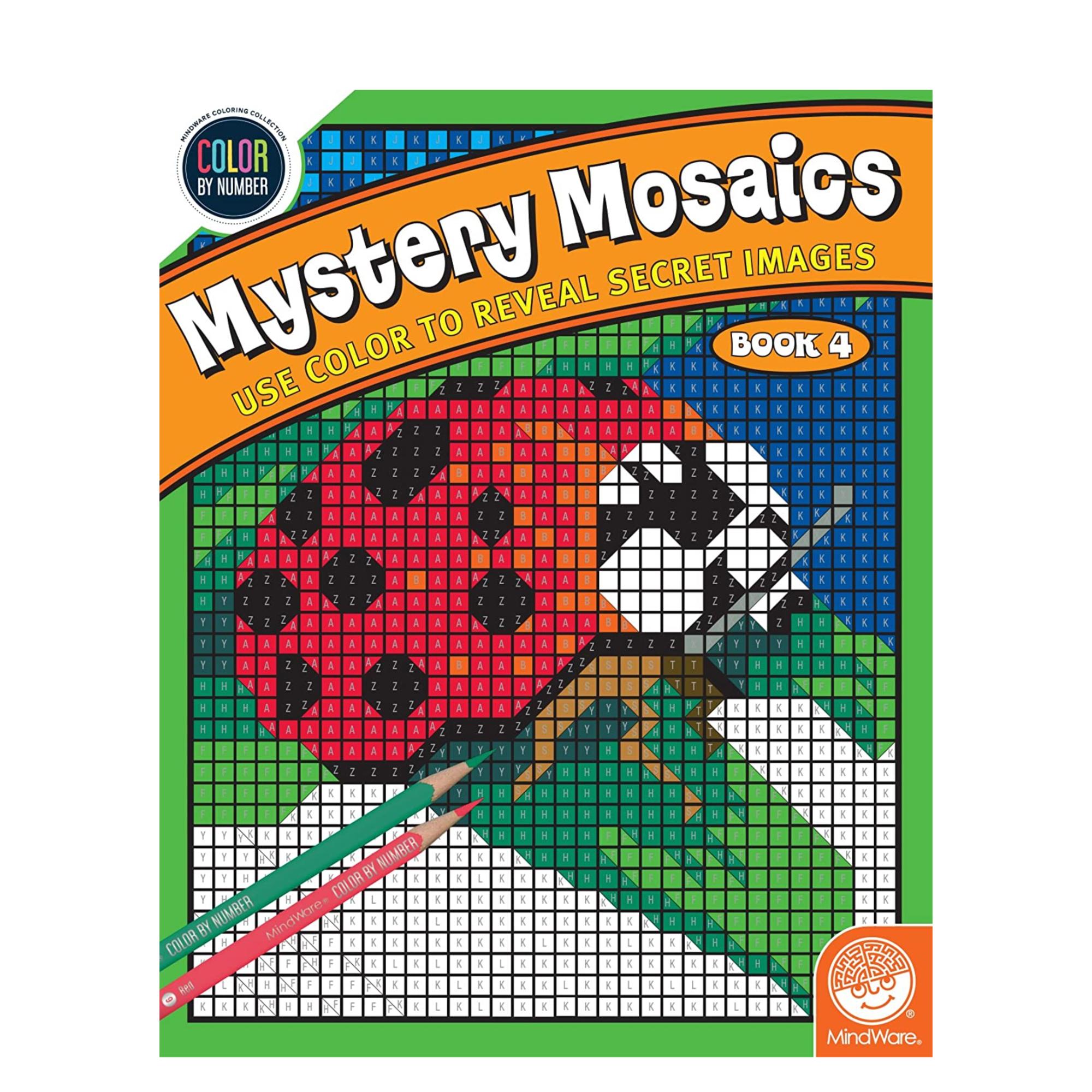 MindWare CBN Mystery Mosaics: Book 4