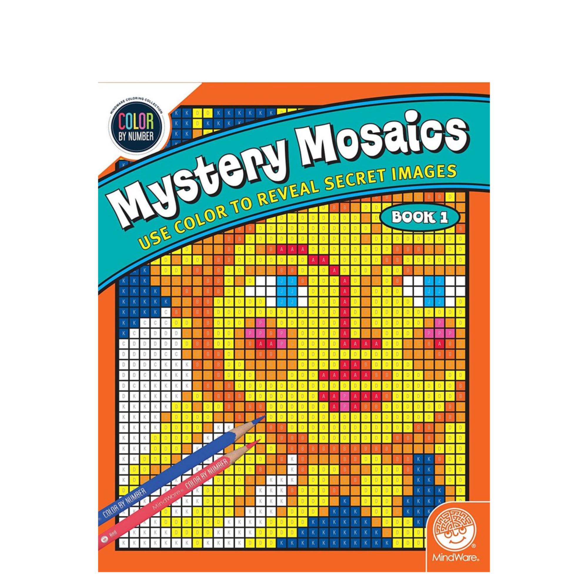 MindWare CBN Mystery Mosaics: Book 1