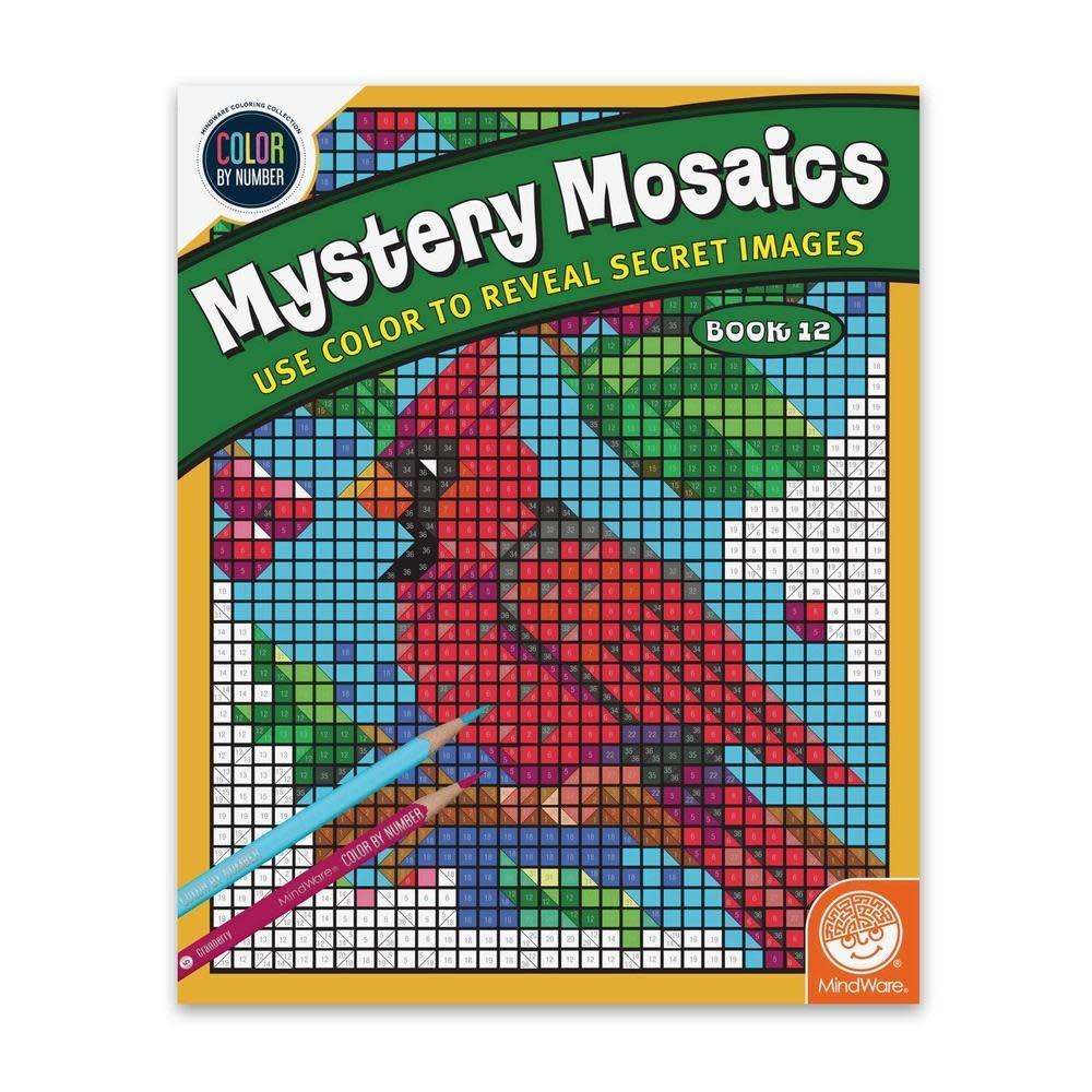 MindWare CBN Mystery Mosaics: Book 12