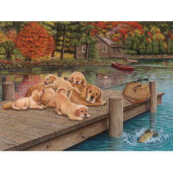 Cobble Hill Puzzle 275: Lazy Day on the Dock