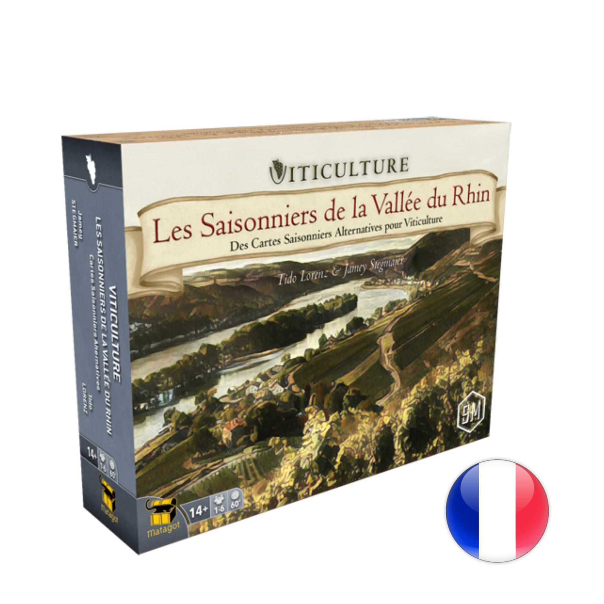 Matagot Viticulture, Extension, Saisonniers de la Vallée du Rhin (VF)