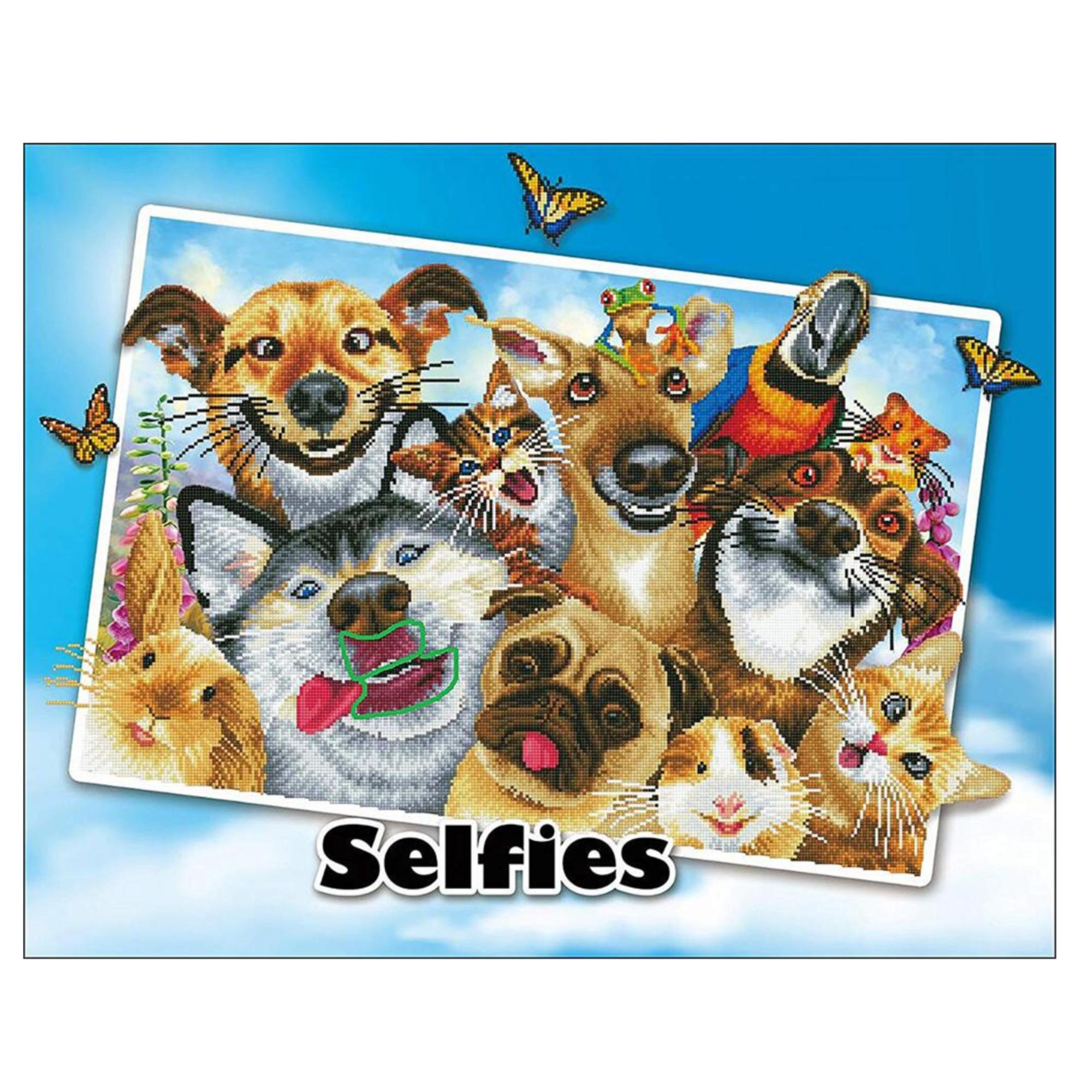 Diamond Dotz Diamond Dotz - Selfies: Love You!